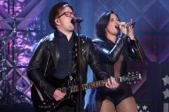 "Demi Lovato Joins Fall Out Boy To Sing ""Irresistible"" On 'Ellen': Watch"
