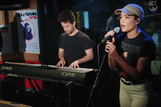 "Halsey Adds An Explicit Twist To Her Cover Of Justin Bieber's ""Love Yourself"": Watch"