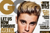 Here's Justin Bieber's First 'GQ' Cover Shoot