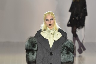 Lady Gaga Modeled At Marc Jacobs Fall 2016 Runway Show