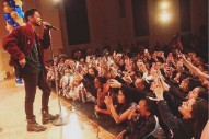 Miguel Performs At His Old Middle School, Chaos Ensues: Watch