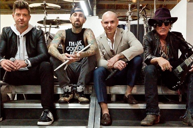 pitbull-robin-thicke-joe-perry-travis-barker