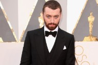 Sam Smith Called Out For Implying He Was The First Openly Gay Male Oscars Winner