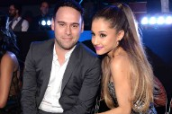 Ariana Grande Reportedly Splits From Manager Scooter Braun