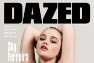 Sky Ferreira Shares More 'Masochism' Details In 'DAZED' Cover Feature