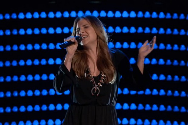 Alisan Porter Curly Sue The Voice Blue Bayou audition Linda Rondstadt 2016