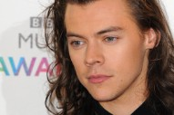Harry Styles Gets Covered In Mud On The Set Of 'Dunkirk': See The Photos