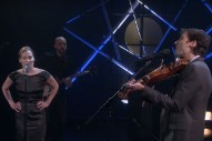 "Fiona Apple Joins Andrew Bird On 'Ellen' For ""Left Handed Kisses"" Performance: Watch"