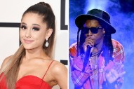 "Hear A Snippet Of Ariana Grande & Lil Wayne's ""Let Me Love You"""
