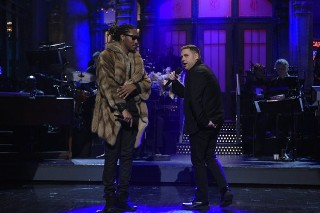 "Jonah Hill Does Drake's Part In Future's ""Jumpman"" On 'SNL': Watch"