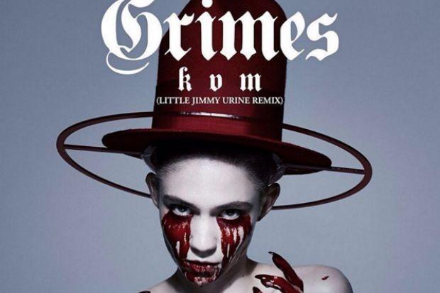 grimes kill v maim remix little jimmy urine