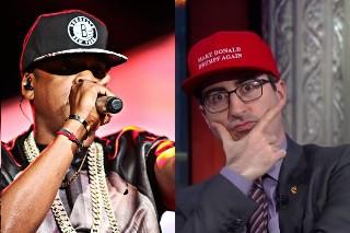 Jay Z Is Anti-Trump, According To 'Last Week Tonight' Host John Oliver