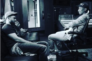 Justin Timberlake And Pharrell Reunite In The Studio: See The Photo