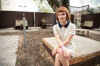 Kacy Hill Poses For Idolator: An Intimate SXSW Portrait Series