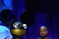 Kanye West's Latest Twitter Beef Target Is Deadmau5