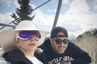 Lady Gaga & Taylor Kinney Hit Up Park City For Charity, Look Cute In Their Ski Gear