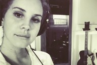 Lana Del Rey Is Back In The Studio