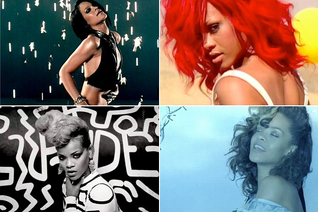 rihanna-umbrella-only-girl-in-the-world-number-ones-chart-top-hits-rude-boy-we-found-love