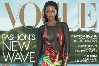 Rihanna Talks Manufactured Beyoncé Feud In 'Vogue' Cover Story