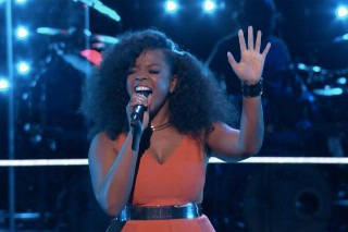 "'The Voice': Tamar Davis Sings Sam Smith's ""Lay Me Down"""