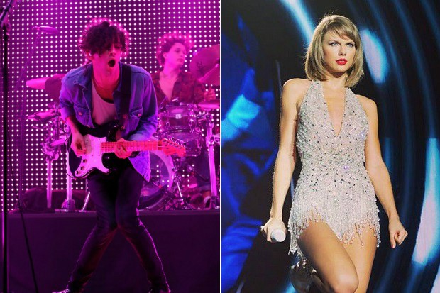 taylor swift matt healy the 1975