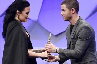 Demi Lovato Joked About Nick Jonas' Dick At The GLAAD Media Awards