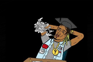 """Fetty Wap Gets """"Wiz Khalifa High"""" In New Song """"Wake Up,"""" Offers Letter To Fans"""