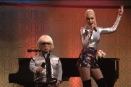"Gwen Stefani Joins Peter Dinklage To Perform A Song Called ""Space Pants"" On 'SNL': Watch"