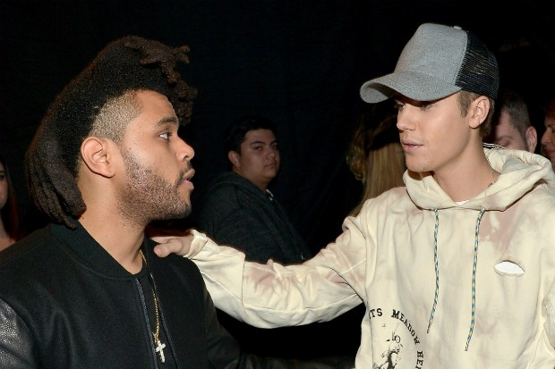 justin bieber the weeknd amas 2015