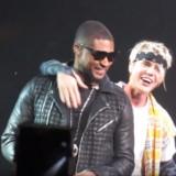 Usher x Bieber Live