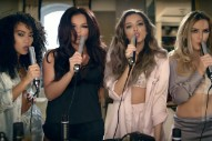 "Little Mix Have A Mini House Party In Their Fun ""Hair"" Video, Featuring Sean Paul: Watch"