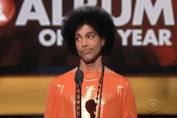 prince grammys 2015 smirk