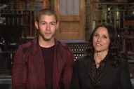 Nick Jonas Is Fully Clothed In His 'SNL' Promos