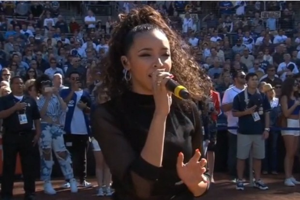 tinashe national anthem