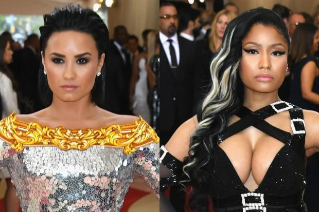 Demi-Lovato-Nicki-Minaj-Feud