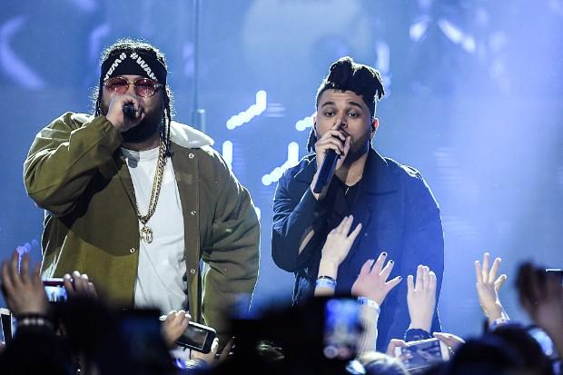 weeknd belly 2016 Juno Awards