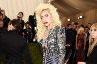 "Lady Gaga Covers Talking Heads' ""Burning Down The House"" At The Met Gala Afterparty"