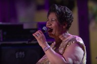 "Aretha Franklin Covers Prince's ""Purple Rain"" At The White House: Watch"