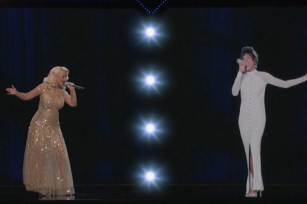 christina-aguilera-whitney-houston