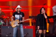 "Demi Lovato And Brad Paisley Perform ""Without A Fight"" On 'Jimmy Kimmel Live': Watch"