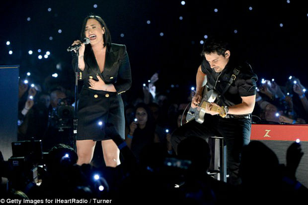 """Demi Lovato And Brad Paisley Team Up On """"Without A Fight"""": Listen 