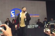 "Watch Drake Perform ""Pop Style"" For The First Time"