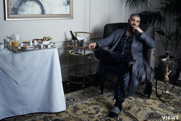 drake views digital booklet robe
