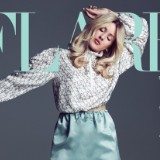 Ellie Goulding Poses For 'Flare' Magazine