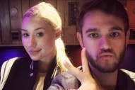 Iggy Azalea & Zedd Are Still Toiling Away In The Studio