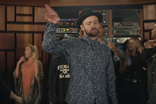 "Justin Timberlake's ""Can't Stop The Feeling!"" Video: Watch Gwen Stefani, Icona Pop & More"