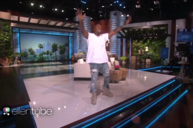 Yeezus Just Rose Again: Kanye West Lectures 'Ellen ...