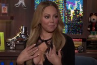"Mariah Carey Explains Infamous ""I Don't Know Her"" Jennifer Lopez Diss On 'WWHL': ""I'm Very Forgetful"""