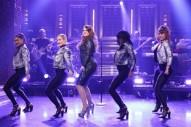 "Meghan Trainor Takes Terrifying Tumble During ""Me Too"" Performance On 'Fallon': Watch"
