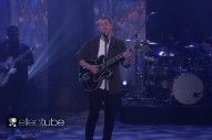 "Nick Jonas Performs ""Close"" (Without Tove Lo) On 'The Ellen Show'"